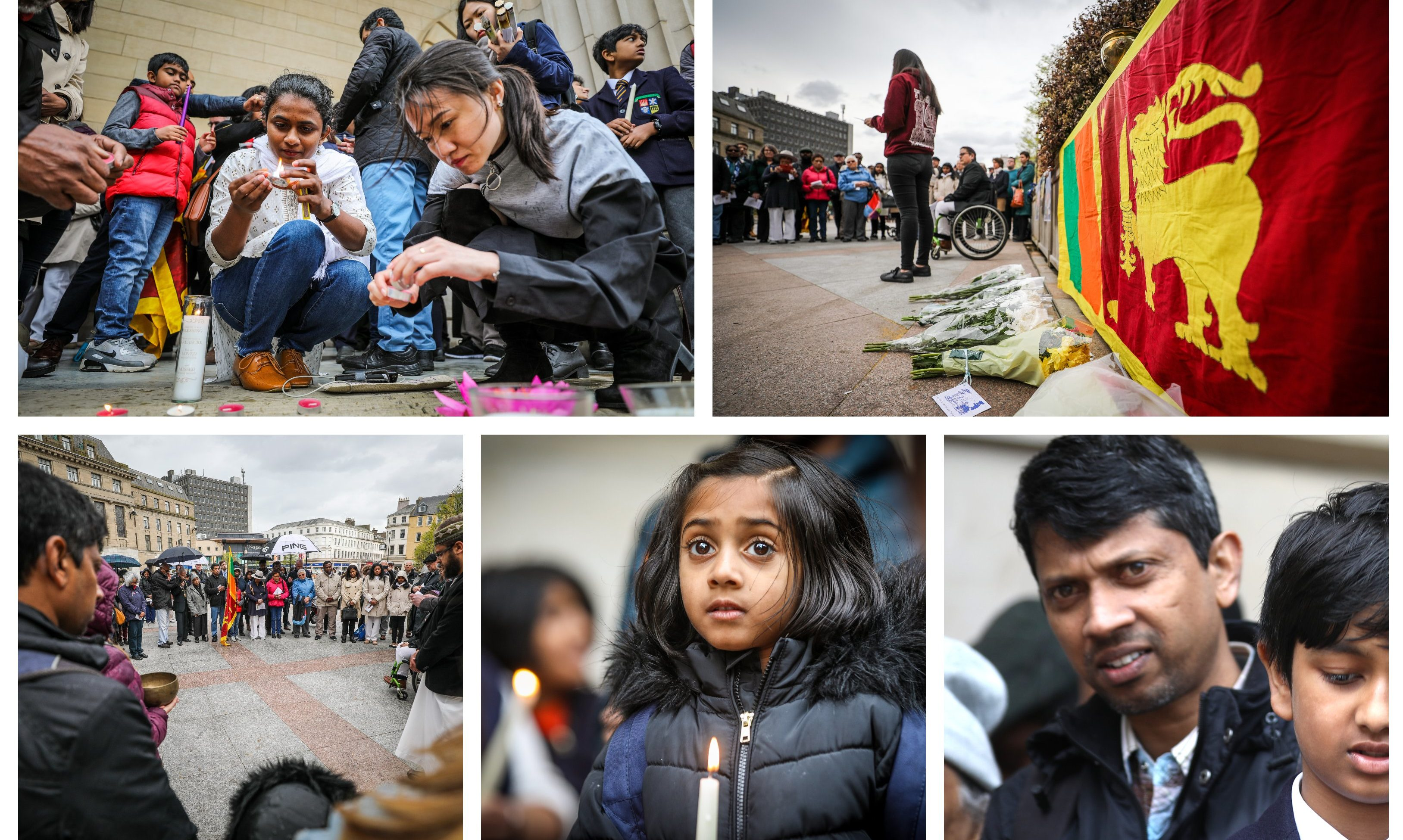 Dundee stood in solidarity with the people of Sri Lanka.