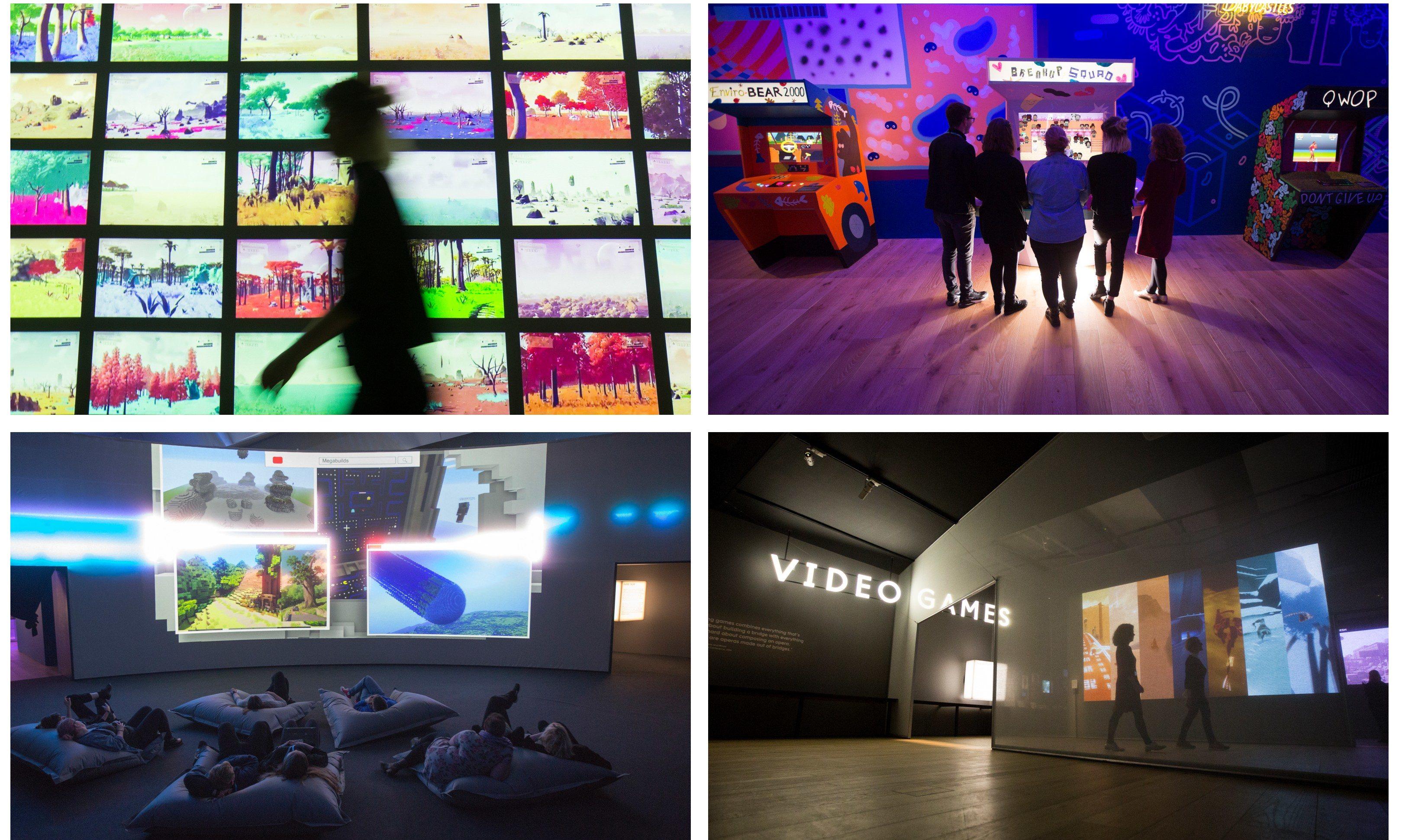 Videogames: Design/Play/Disrupt at VA Dundee last year