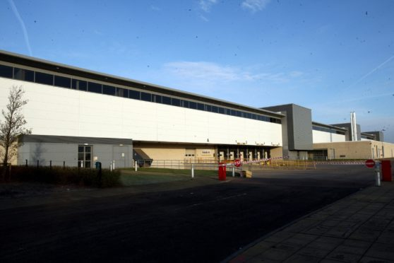 Fife Council's Bankhead Central depot.
