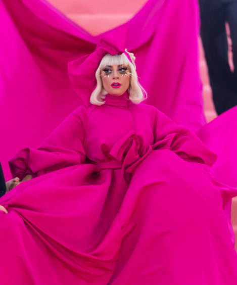 Singer, songwriter and actress Lady Gaga is seen arriving to the 2019 Met Gala Celebrating Camp: Notes on Fashion at The Metropolitan Museum of Art on May 6, 2019 in New York City.  (Photo by Gilbert Carrasquillo/GC Images)