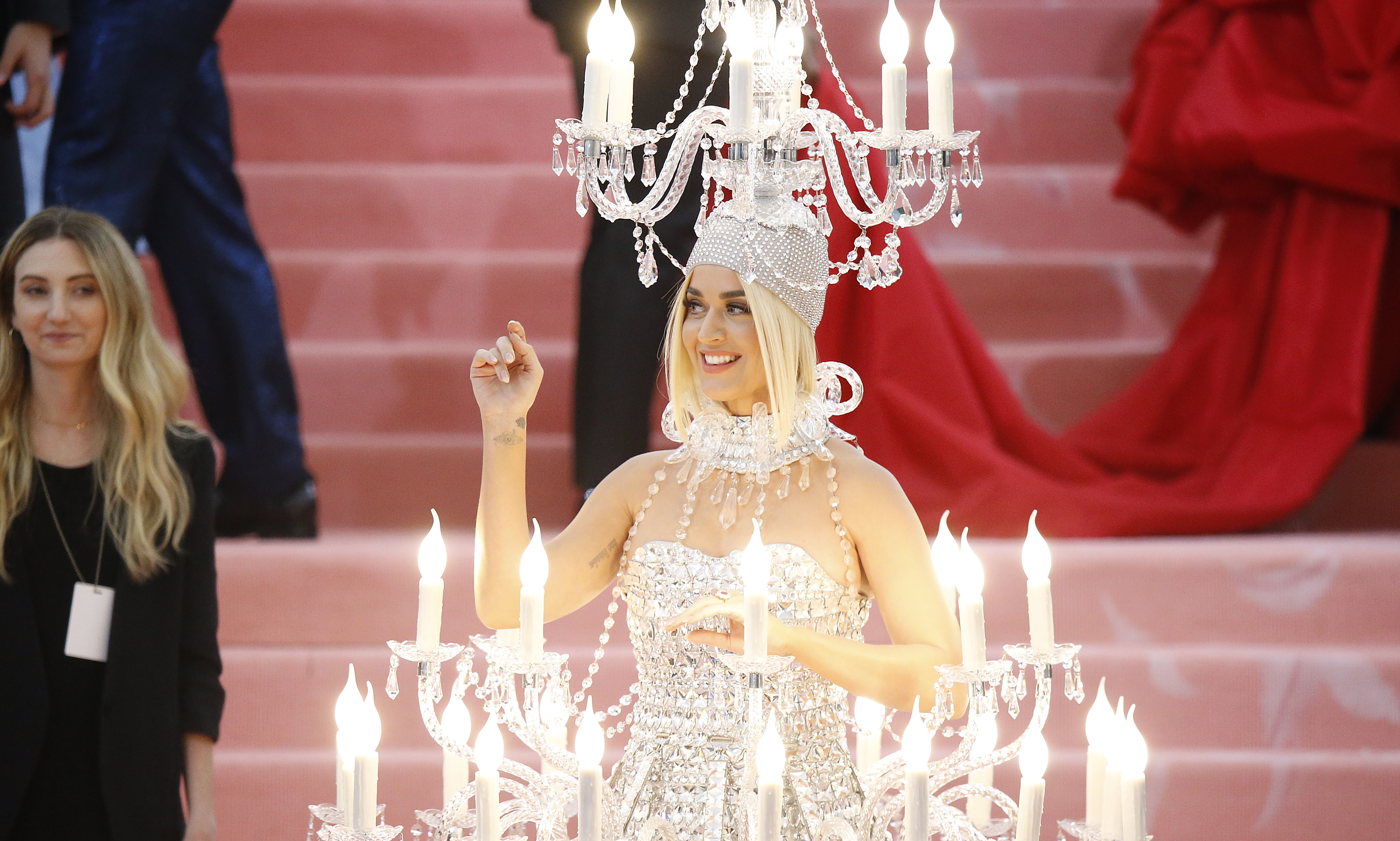 Katy Perry attends The 2019 Met Gala Celebrating Camp: Notes on Fashion at Metropolitan Museum of Art.