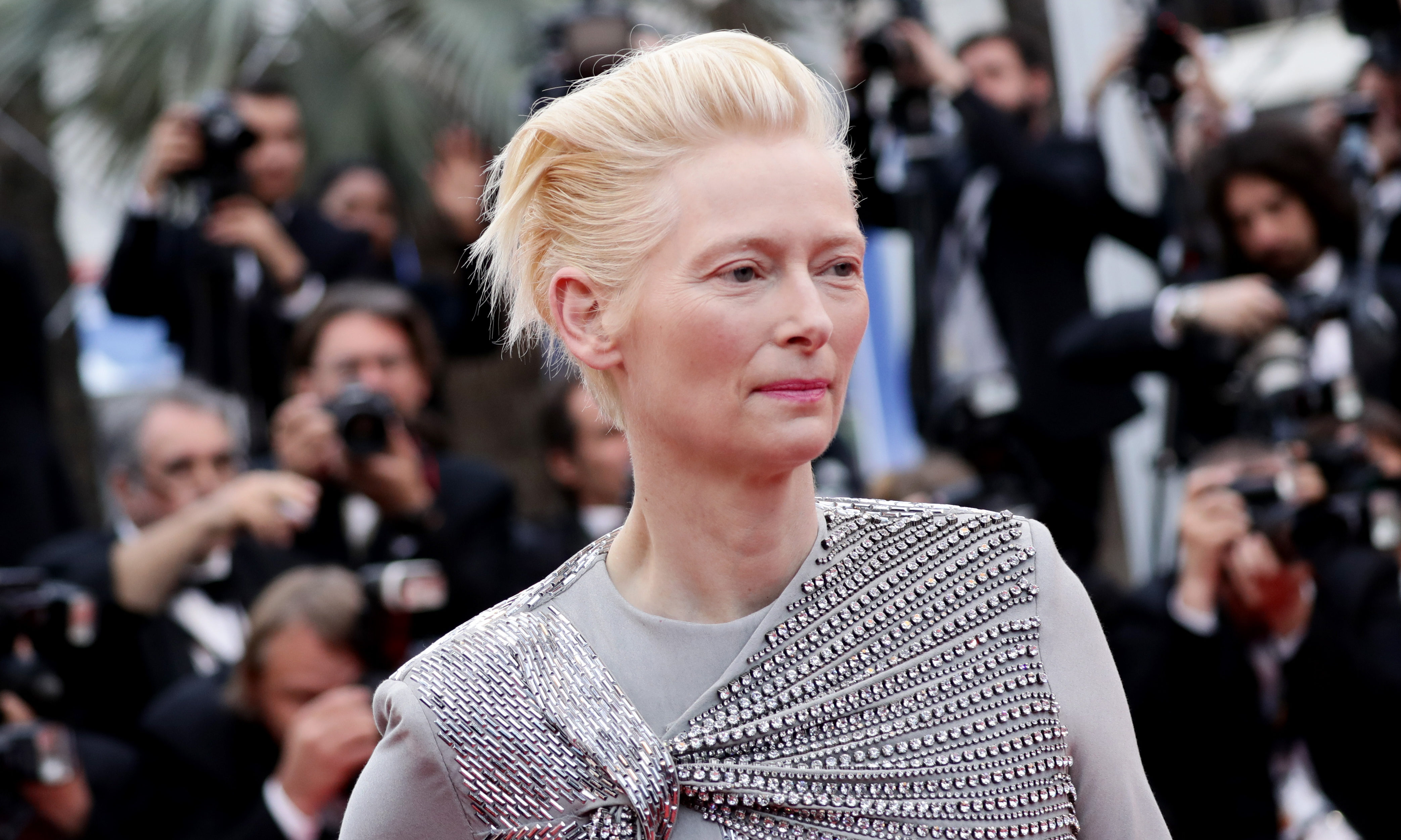 Tilda Swinton attends   the 72nd annual Cannes Film Festival