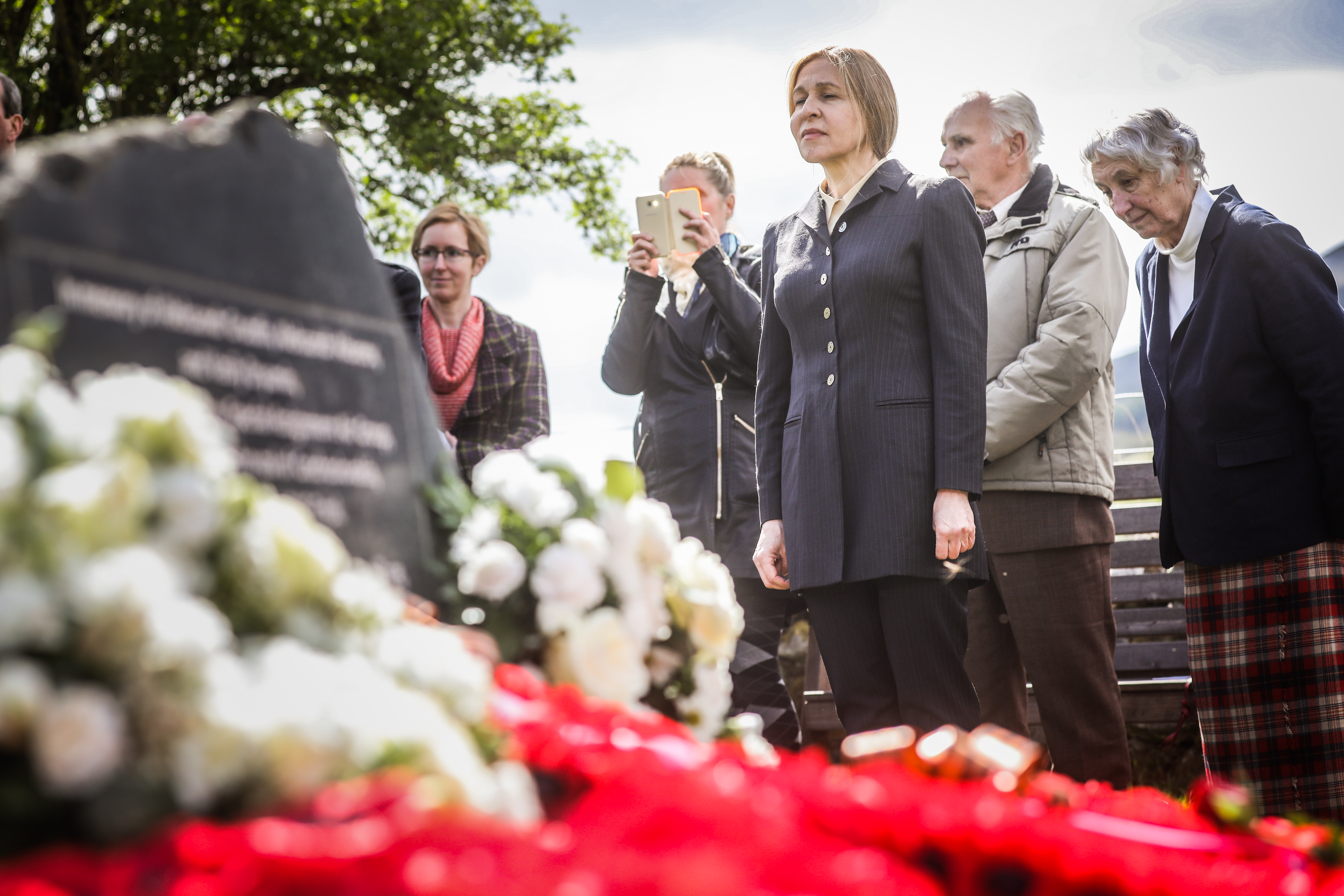 """Anna said she was proud to have played a part in ensuring the men's sacrifice was not forgotten. """"I have no words, it was the most moving ceremony. It was incredible, I had tears in my eyes,"""" she said. """"It was so genuine and moving with lots of people from all walks of life."""""""