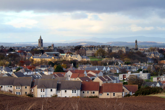 A general view of St Andrews.