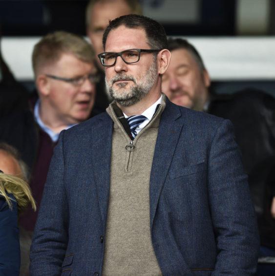 Rab Douglas urged Dundee fans to trust John Nelms