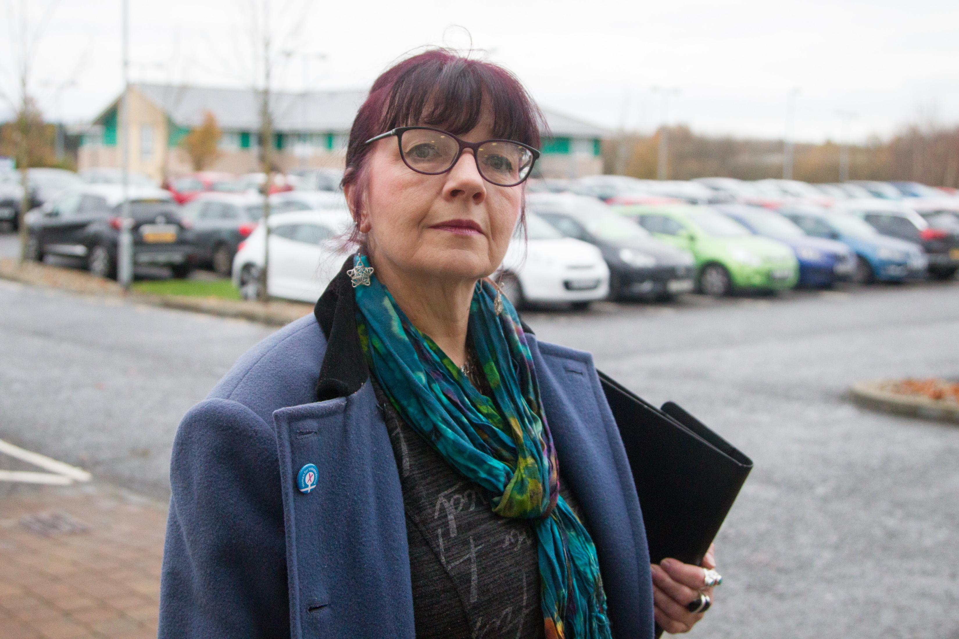 Angus councillor Julie Bell.