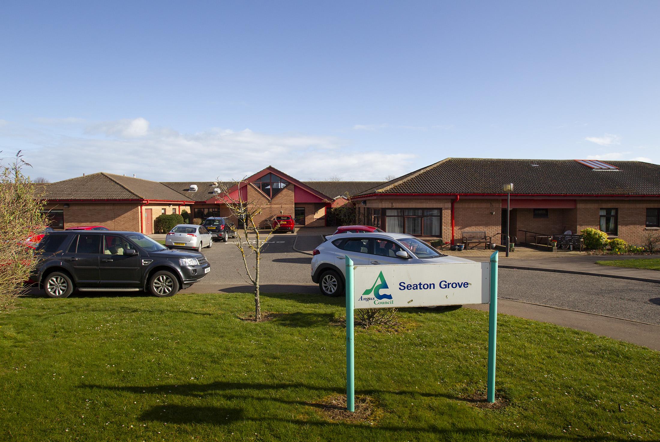 Seaton Grove care home in Arbroath.