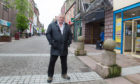 Arbroath businessman Bill Adam has hit out at the state of Arbroath's town centre.