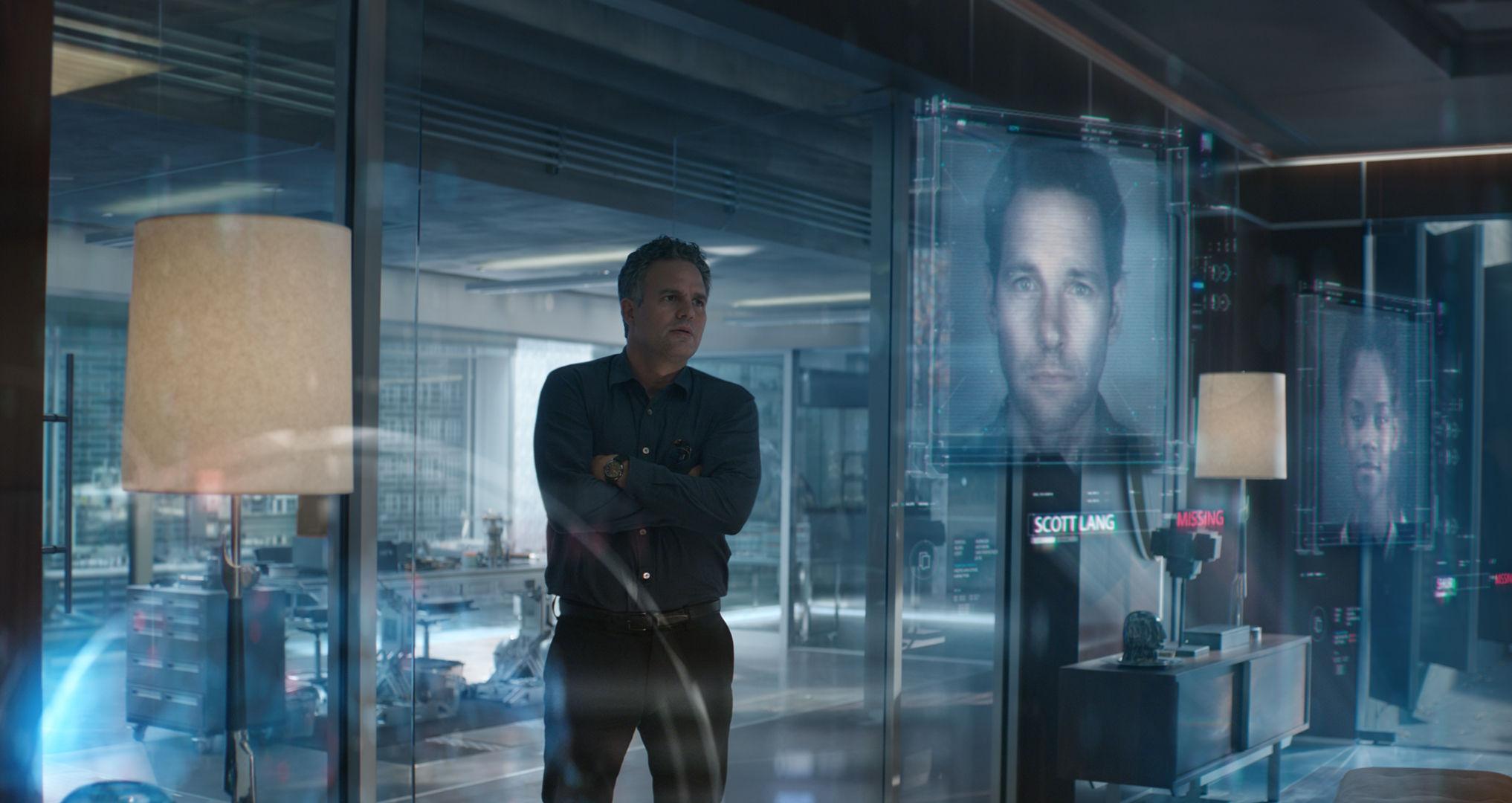 Avengers: Endgame. Pictured: Mark Ruffalo as Bruce Banner.
