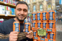 Ali Baig, manager of Newsxtra Newsagents in Glasgow.