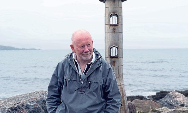 Jim Malcolm, Stonehaven artist.
