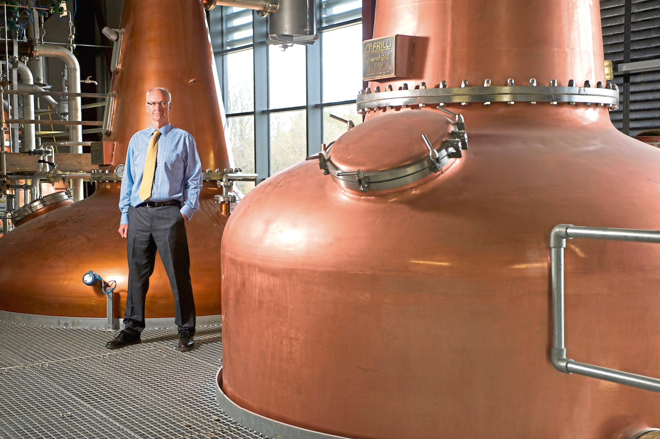Ian Pamer, managing director of InchDarnie distillery