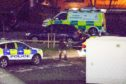The incident on Ann Street sparked an armed police response.
