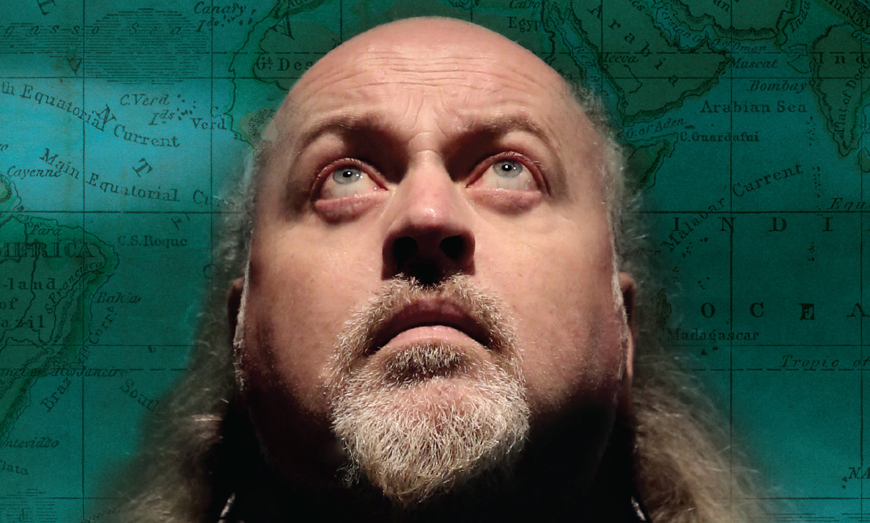 Bill Bailey brings his Larks in Transit show to Scotland. Pictures: Andy Hollingworth.