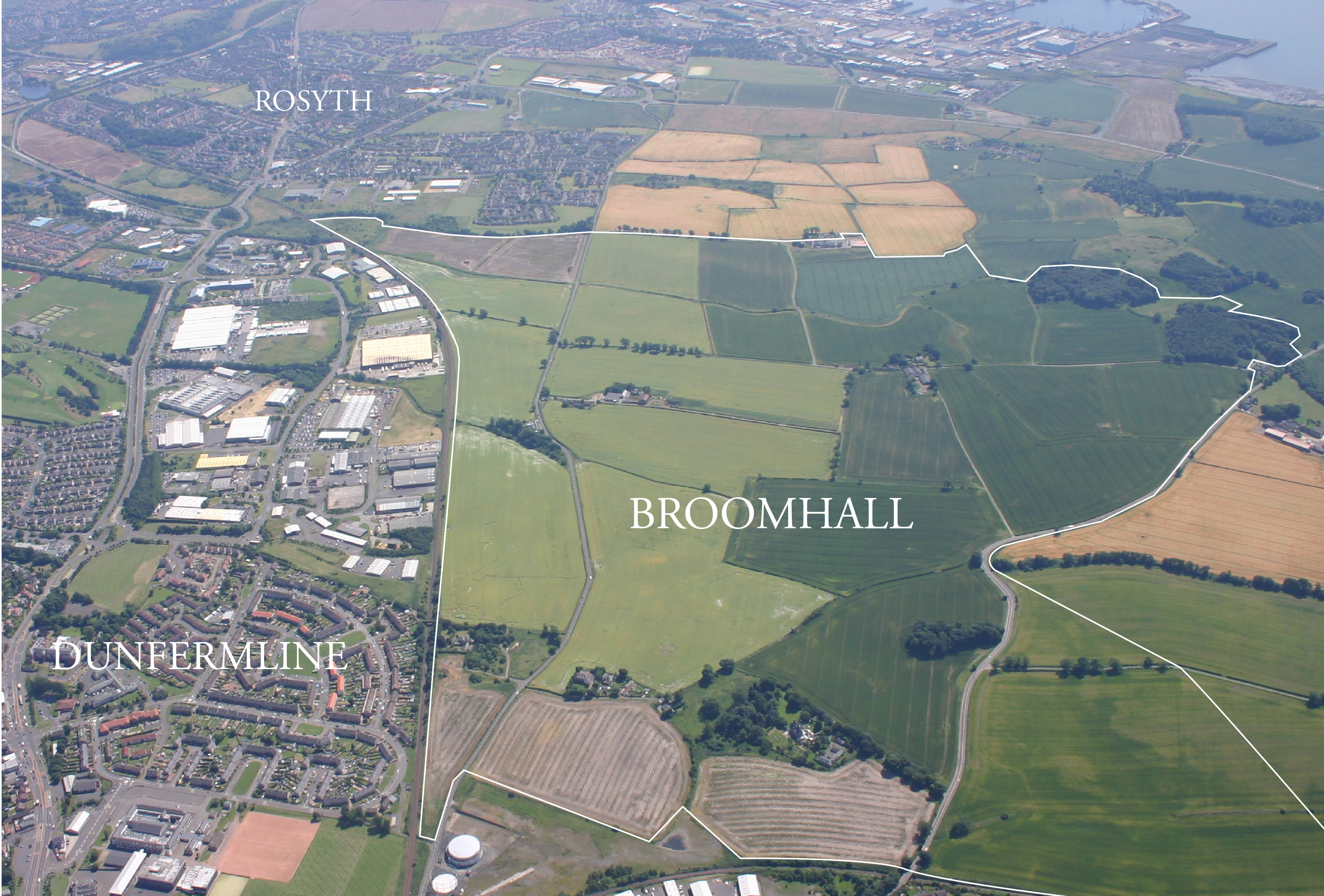 The Western Distributor Road would serve Broomhall, where a major development is planned.