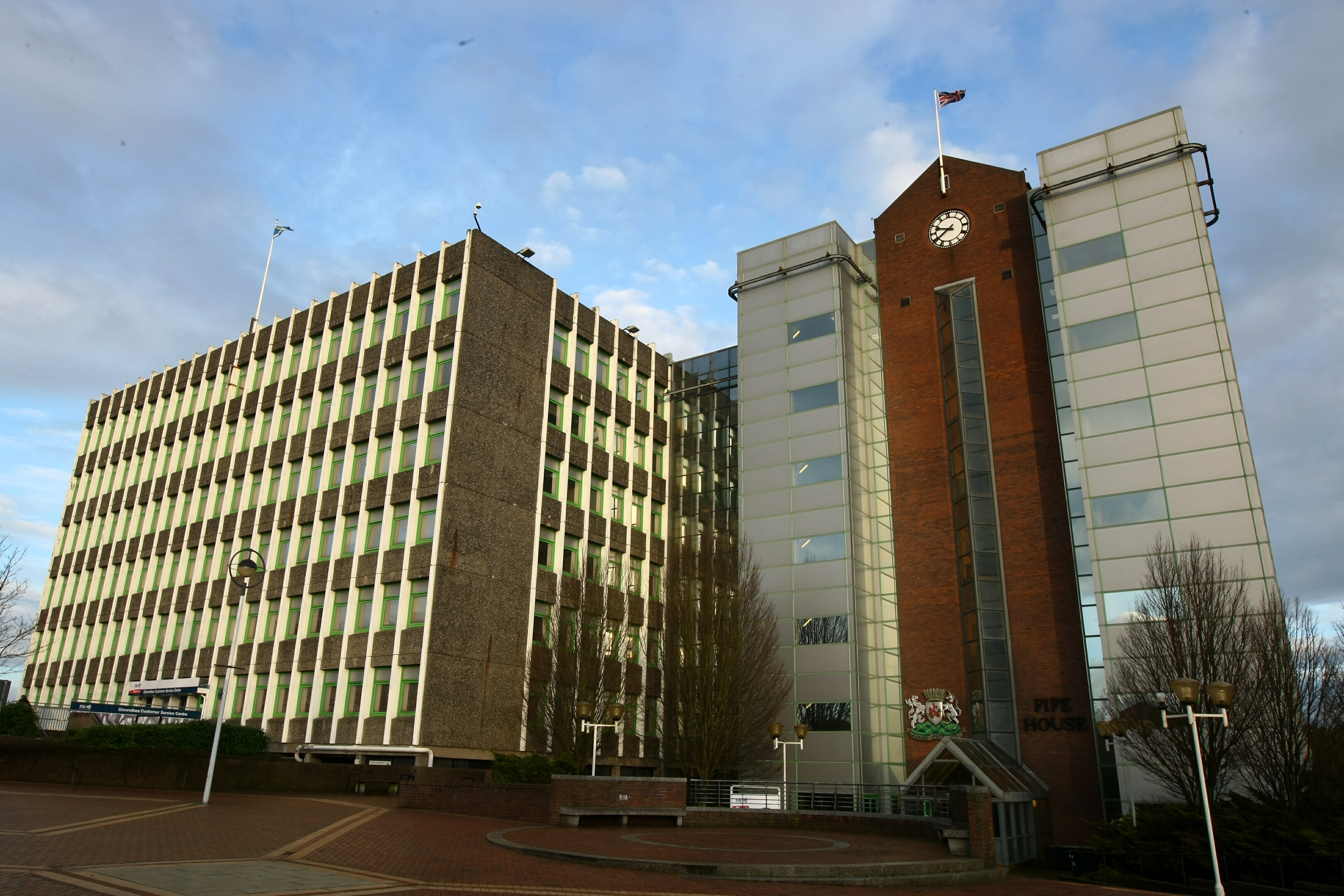 Fife House, headquarters of Fife Council.