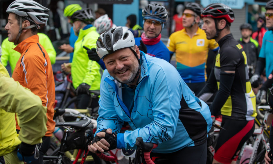The event had two distances to choose from, either a hardy 85-mile circuit or a more gentle 40-mile route.