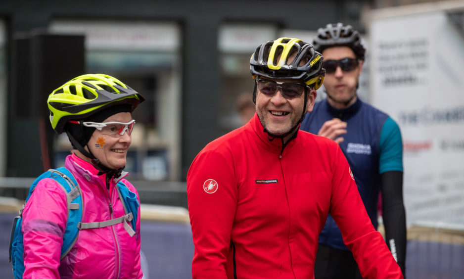 Will these participants still be smiling once the cycle begins?