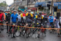Hundreds of cyclists take part in Etape Caledonia. CR0009479 Pic Kenny Smith, Kenny Smith Photography Tel 07809 450119