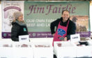 Perth Farmers Market founder Jim Fairlie with his wife Anne McGhee