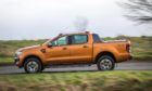 An orange Ford Ranger. (library photo)