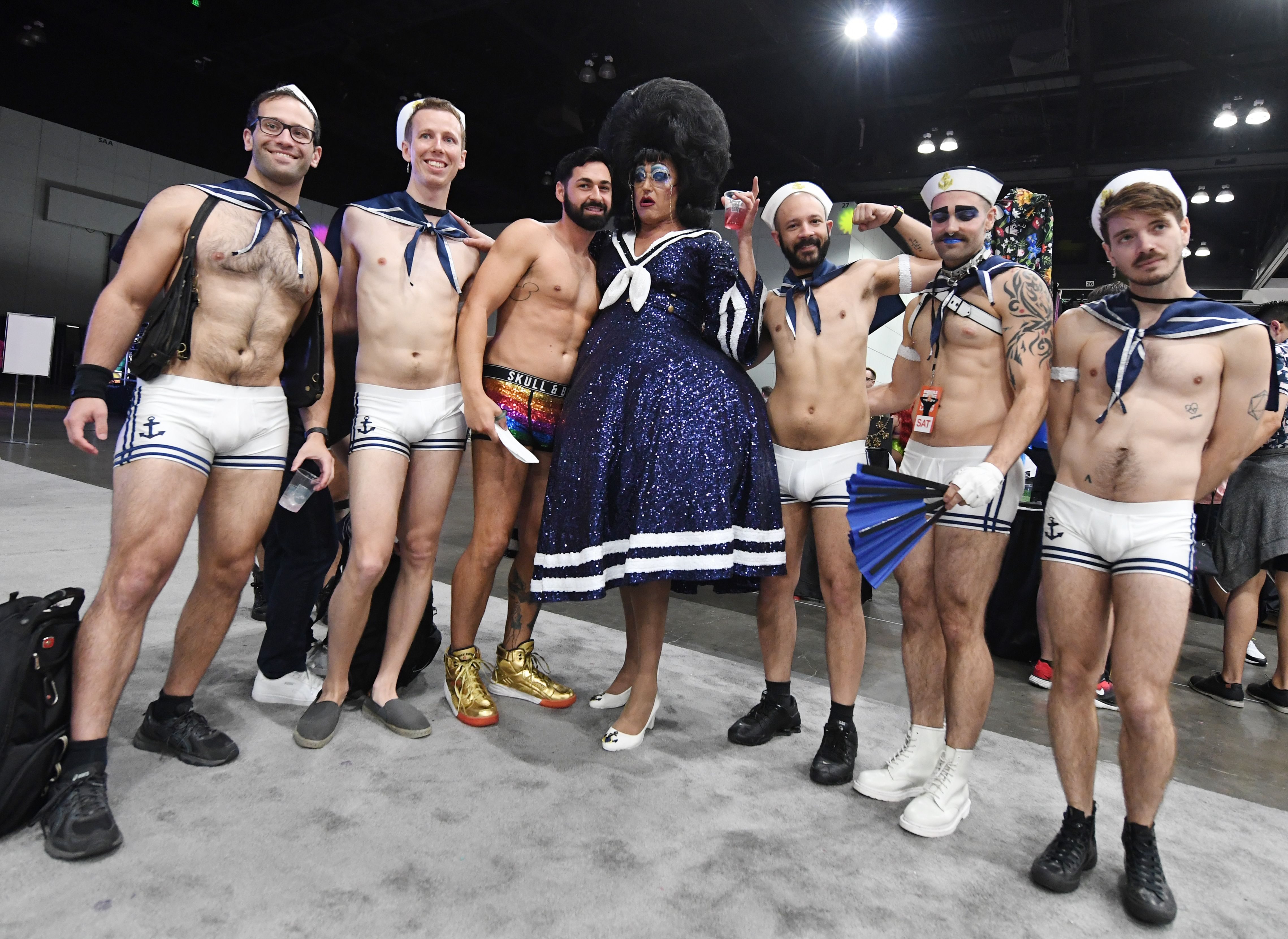 """Drag Queens and friends attend the three day RuPaul's DragCon, which is billed as the """"first convention celebrating drag, queer culture and  self-expression"""" ."""