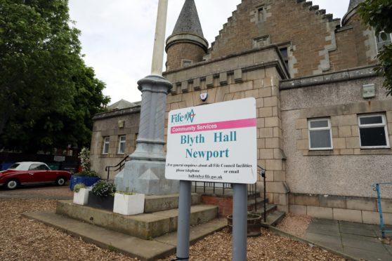 Blyth Hall in Newport.