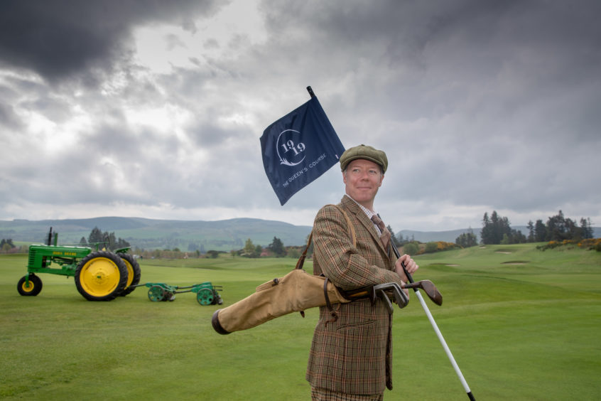 Gleneagles Hotel celebrates its centenary. Picture by Kenny Smith.