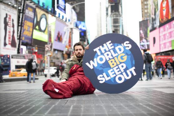Social Bite founder Josh Littlejohn in New York