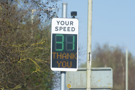 There are hopes more speed warning signs will be installed across Angus.