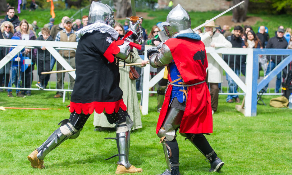 More than 2,000 visitors flocked to Scone Palace for the 15-year-old annual event.