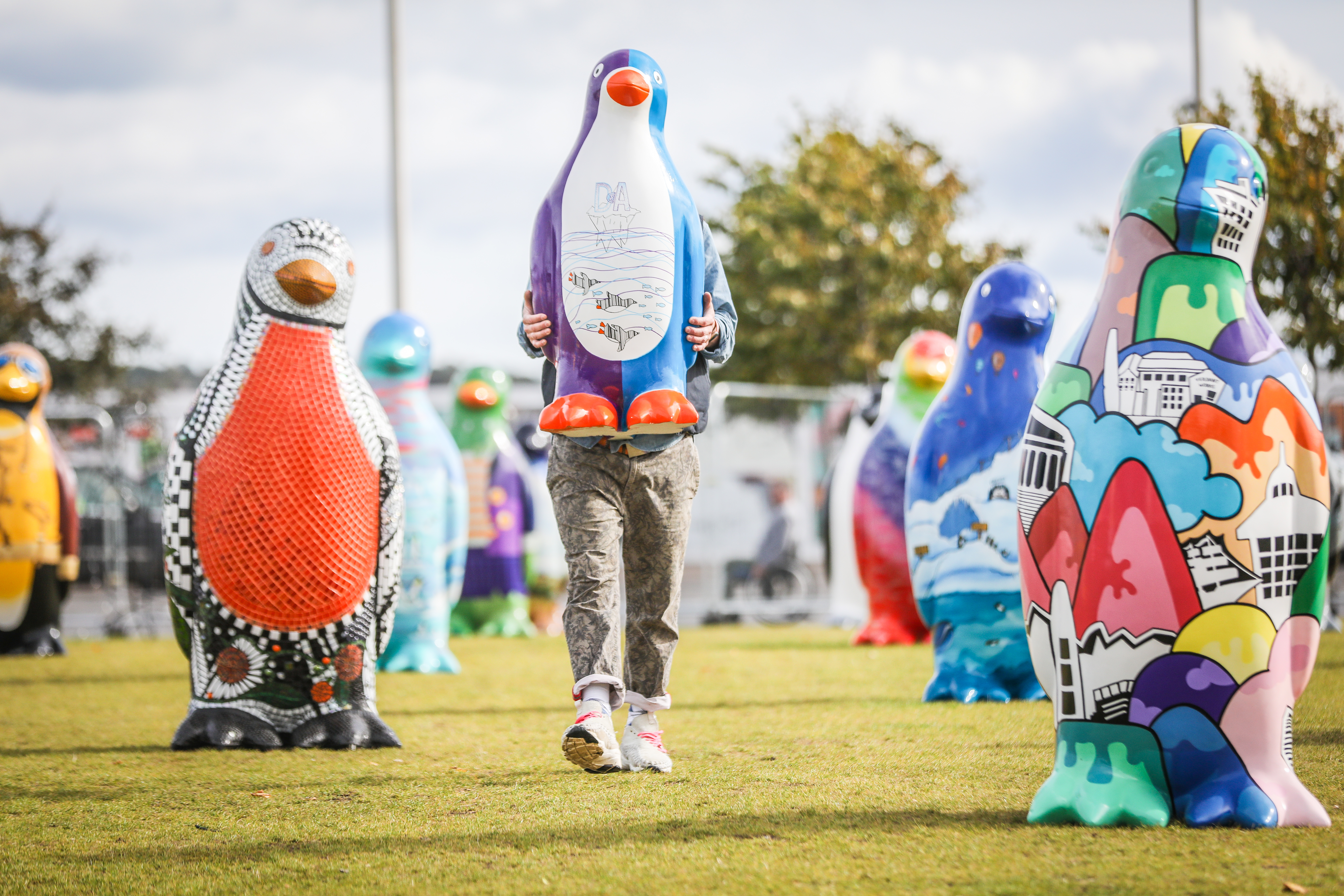 A new penguin will be designed for the Culture Crawl.