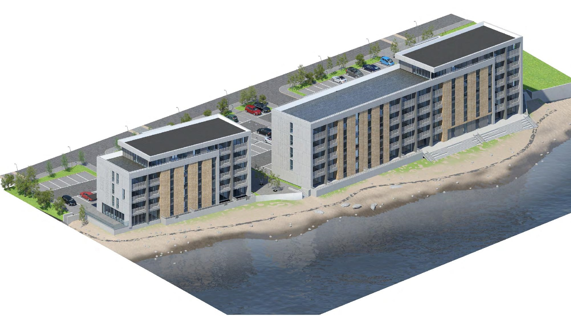 An artist's impression of how the new development could look.