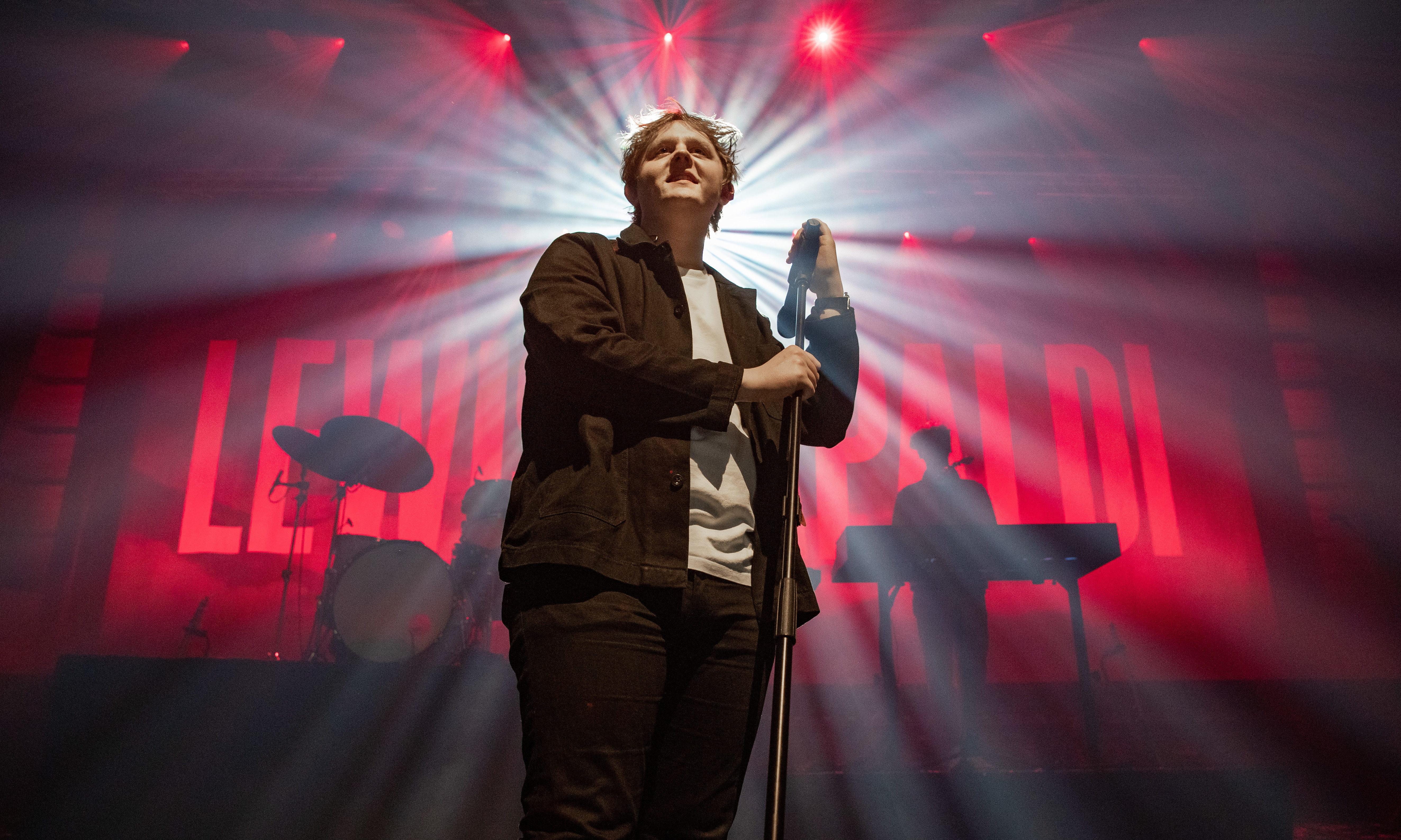 Lewis Capaldi playing Perth Concert Hall's Gannochy Trust Auditorium as part of Perth Festival of the Arts.