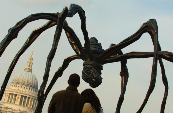The sculpture by French-born artist Louise Bourgeois.