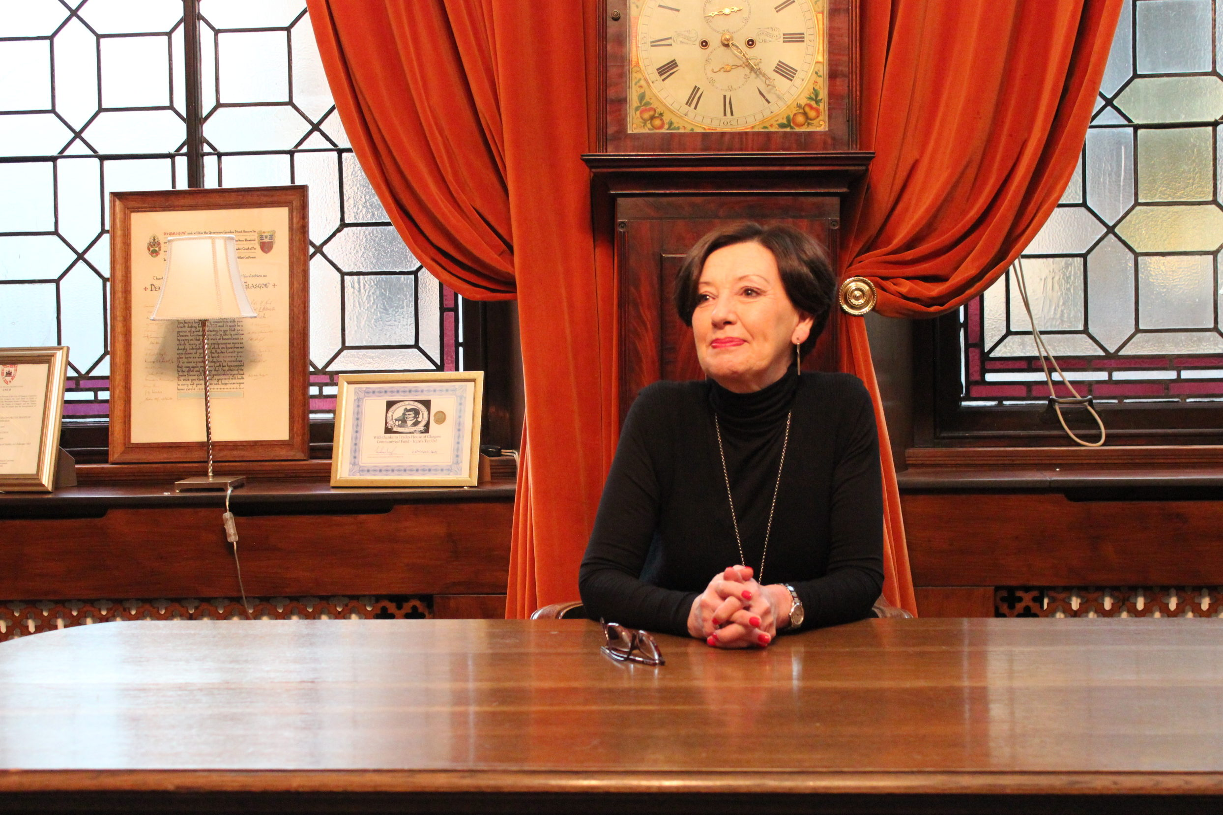 Genealogist Elizabeth Cunningham of Kirkcaldy