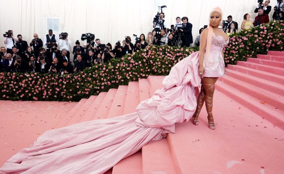Nicki Minaj attending the Metropolitan Museum of Art Costume Institute Benefit Gala 2019 in New York, USA.