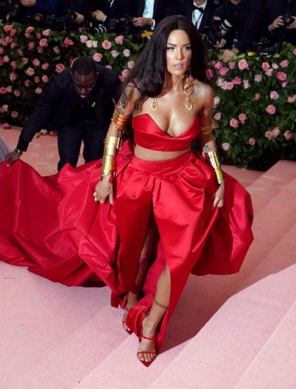 Halsey attending the Metropolitan Museum of Art Costume Institute Benefit Gala 2019 in New York, USA.