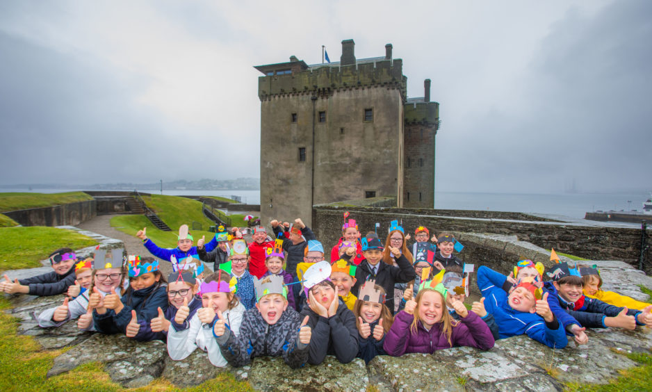 A museum based in a former Tayside coastal fort has celebrated 50 years of welcoming people through its doors. Broughty Castle Museum marked its golden anniversary yesterday with a cake and a celebration with pupils from Forthill Primary School.