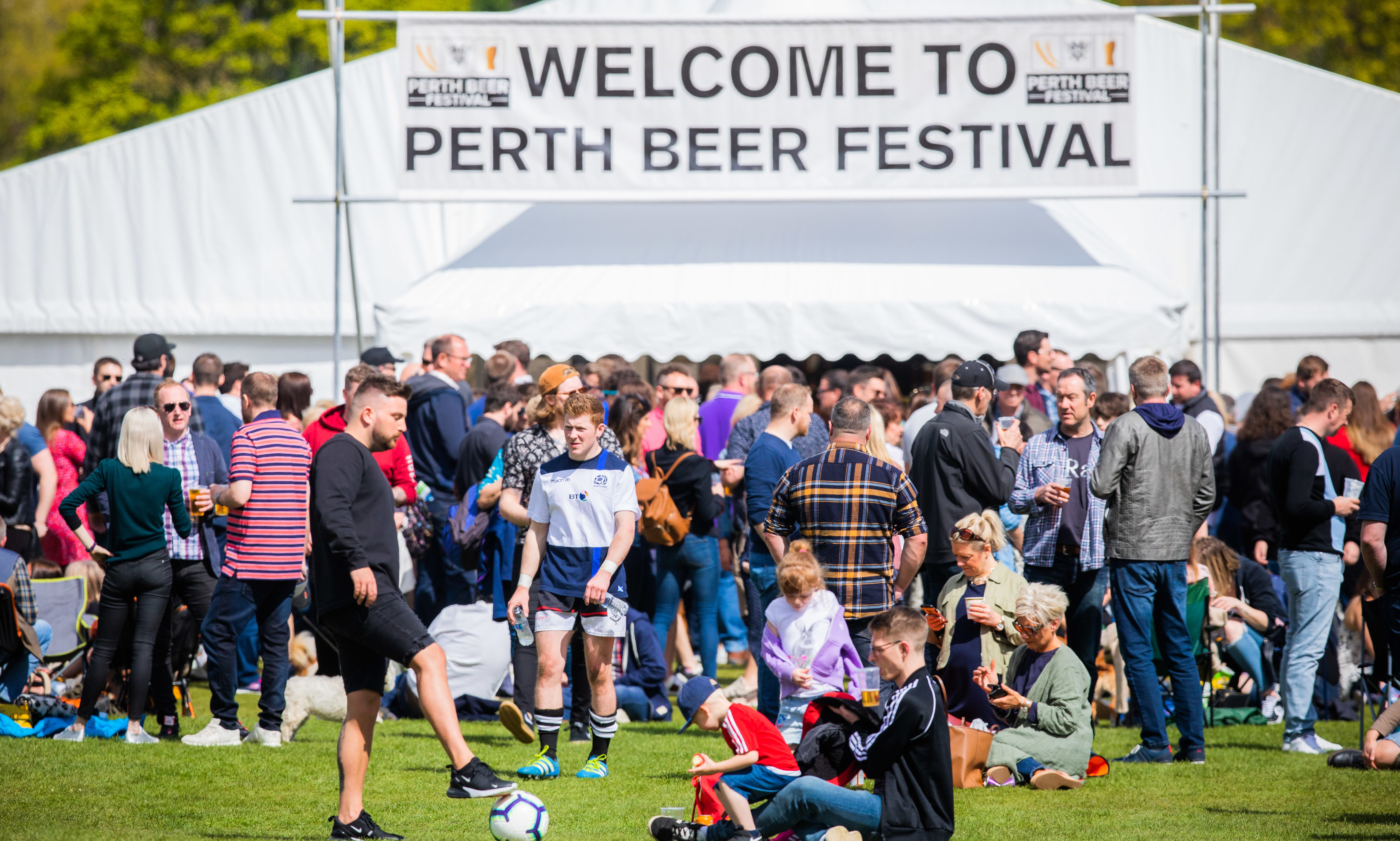 Perth Beer Festival was another great success for organisers Perthshire RFC.
