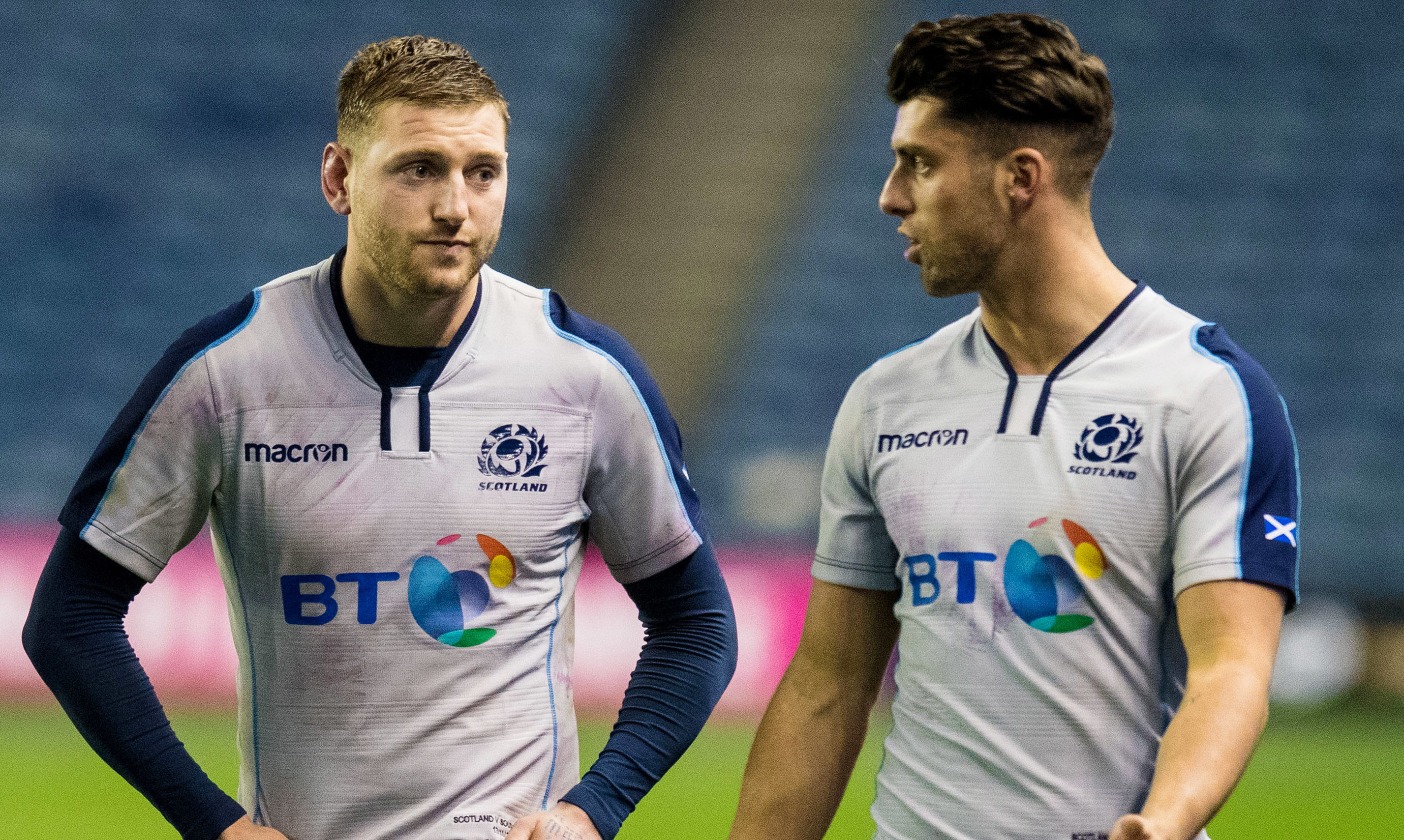 Finn Russell has been replaced with Adam Hastings for Scotland.