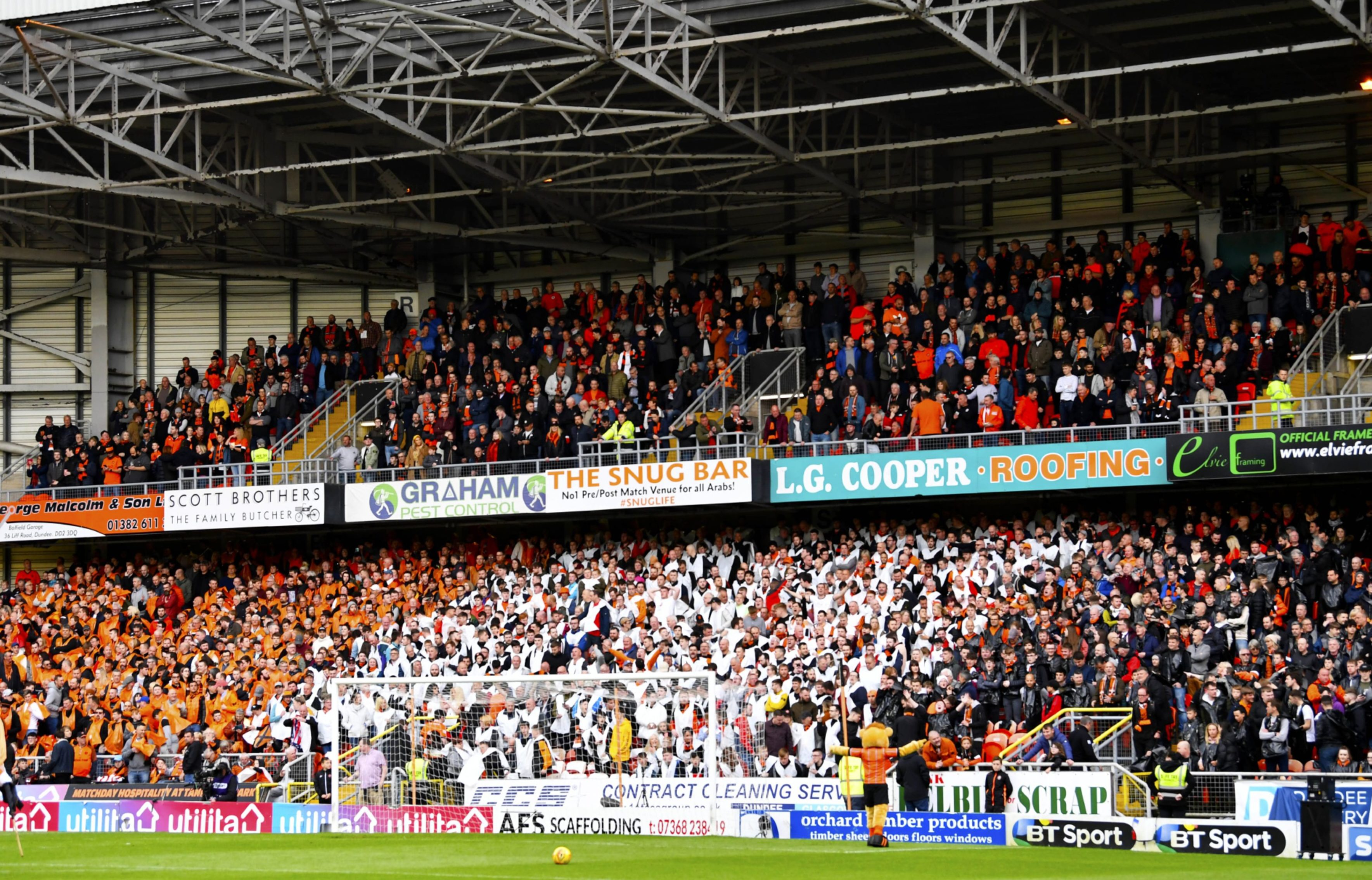 Dundee United's allocation has sold out.