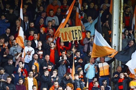 The United fans will make themselves heard in Paisley.
