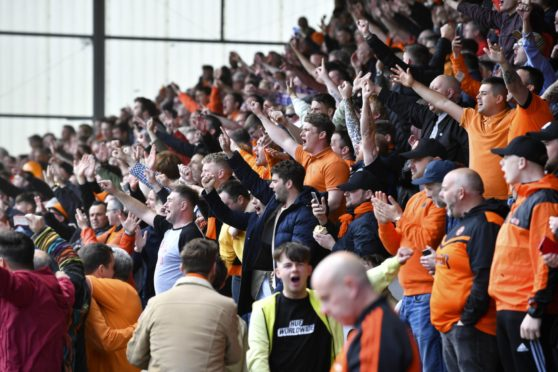 Dundee United fans are supporting their club financially during tough times.