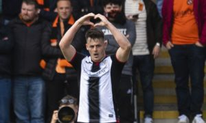 Dundee snap up St Mirren striker Danny Mullen on two-year contract