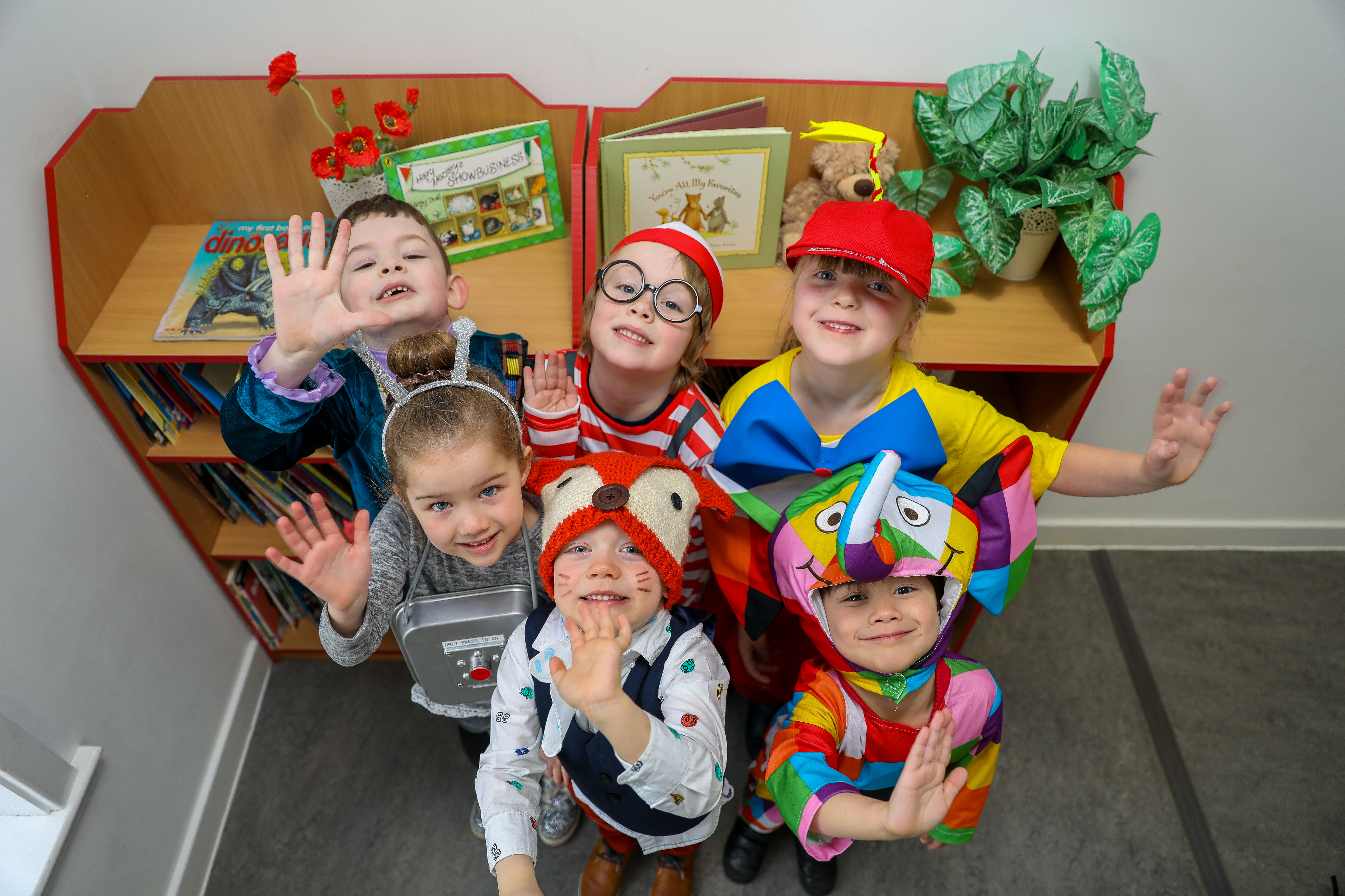 Fun costumes for World Book Day with P1/2 pupils Noah Yates, Niamh Gibson, Bethany Hedges, Archie Mitchell, Lucas Riely and Zakk Brown. But for some parents, events such as these can be a step too far.