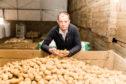 Andrew Skea, seed potato producer and exporter with Skea Organics