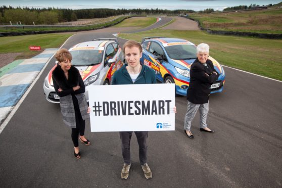 The campaign launched at Knockhill