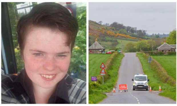 Annalise Johnstone's body was found near the B8062 Dunning to Auchterarder road.