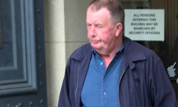 Angus Binnie at an earlier court appearance.